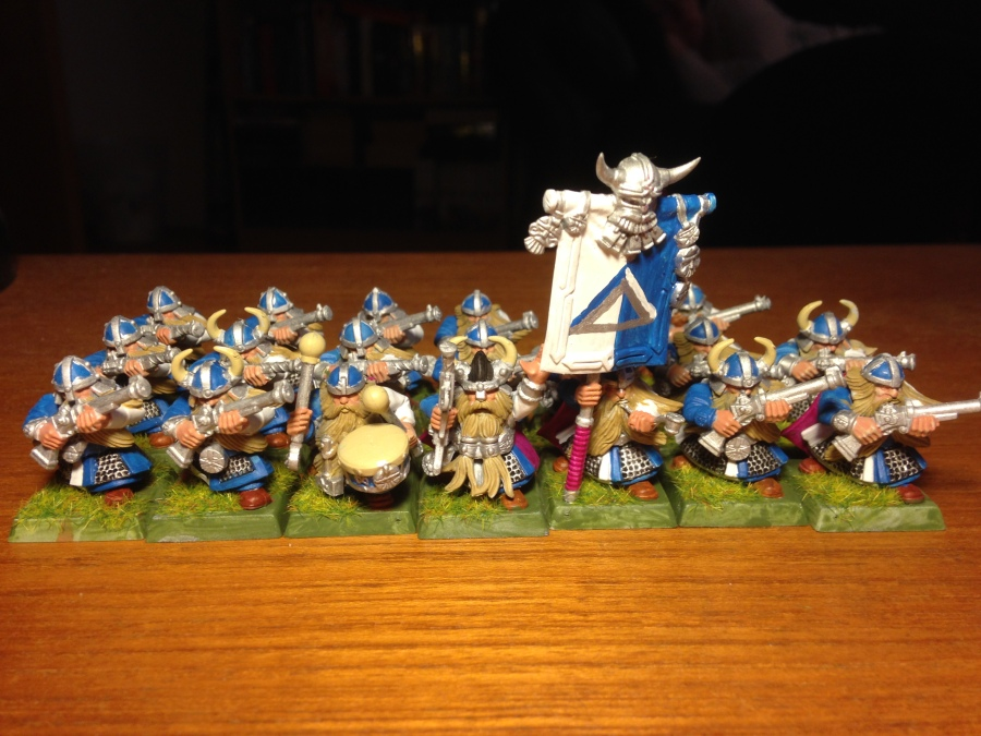 4 Thunderers of Clan Silvertop