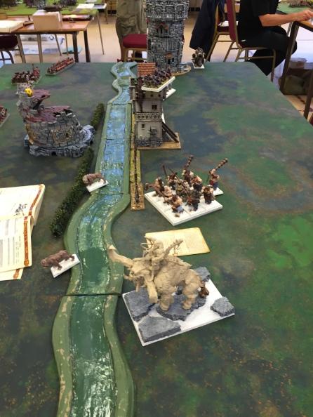 8 Ogre turn 1