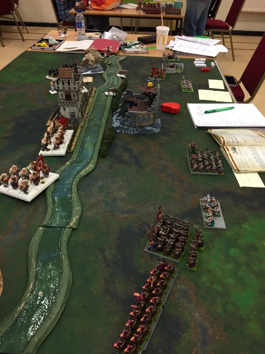 9 Dwarf turn 1