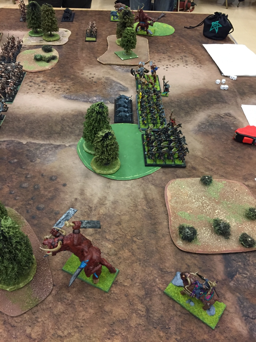 7 - Turn 1 - Herd of Khazbar