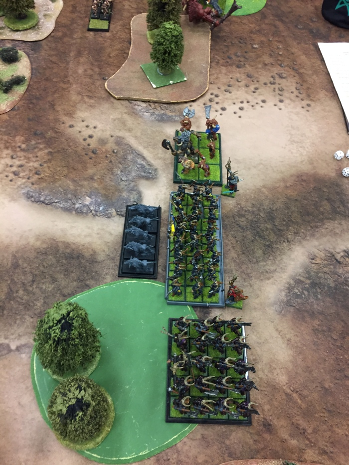 8 - Turn 1 - Herd of Khazbar