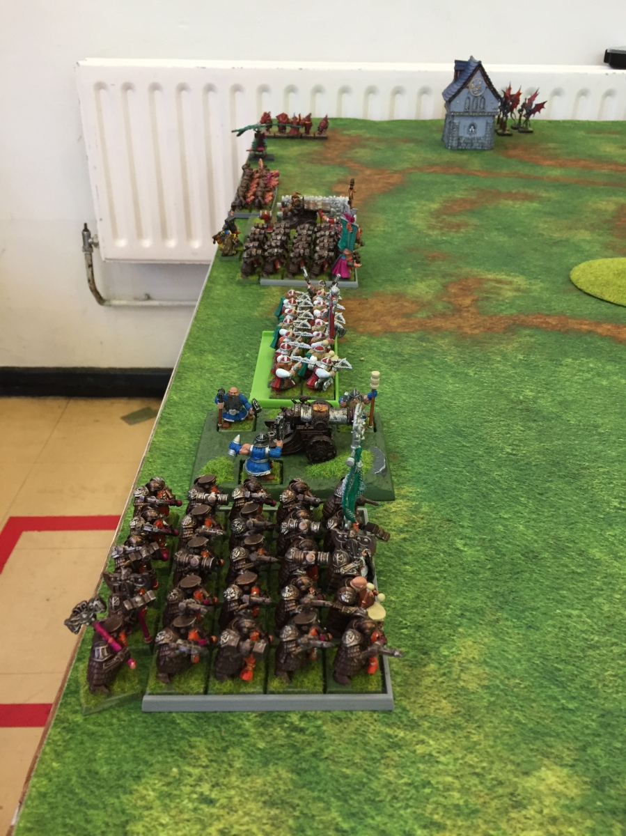 9. Turn 1 - Dwarves