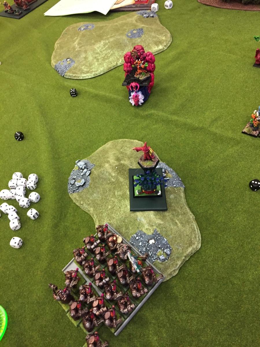 12. Turn 2 - Daemons