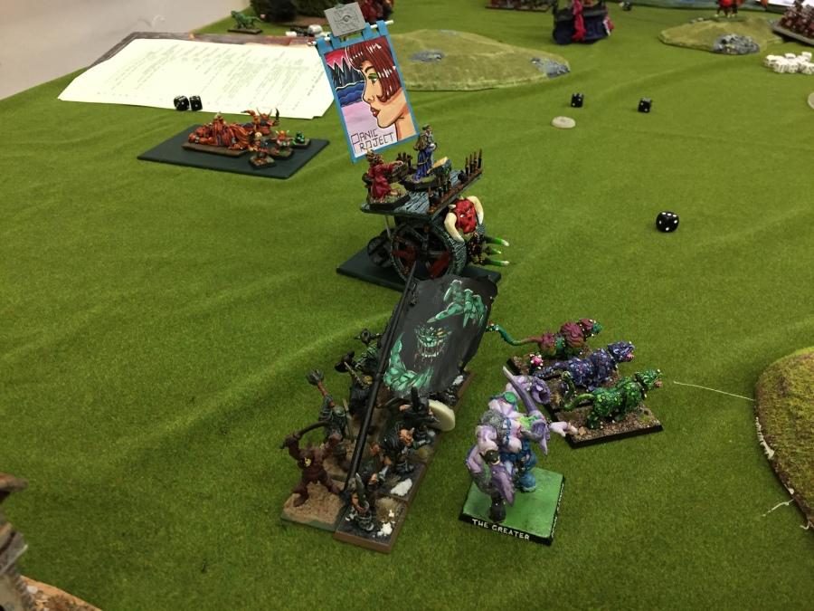 9. Turn 2 - Daemons