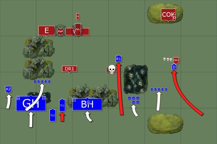 3. Beastmen Turn 1