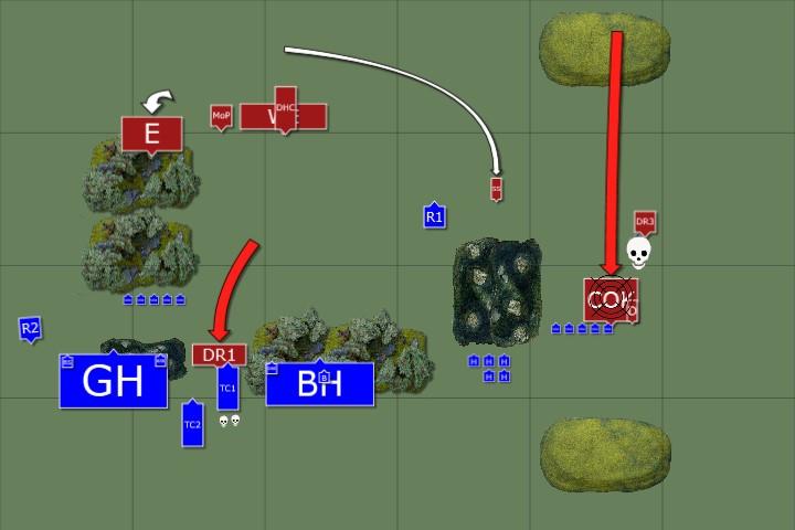 4. DE Turn 1