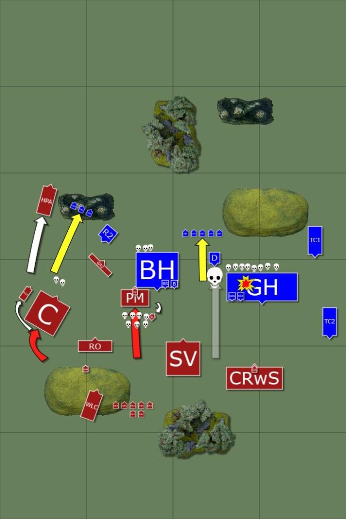 6. Turn 2 - Skaven