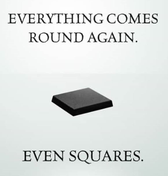 Everything comes round - even rounds